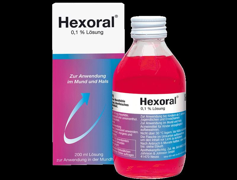 Hexoral Lösung 0,1%