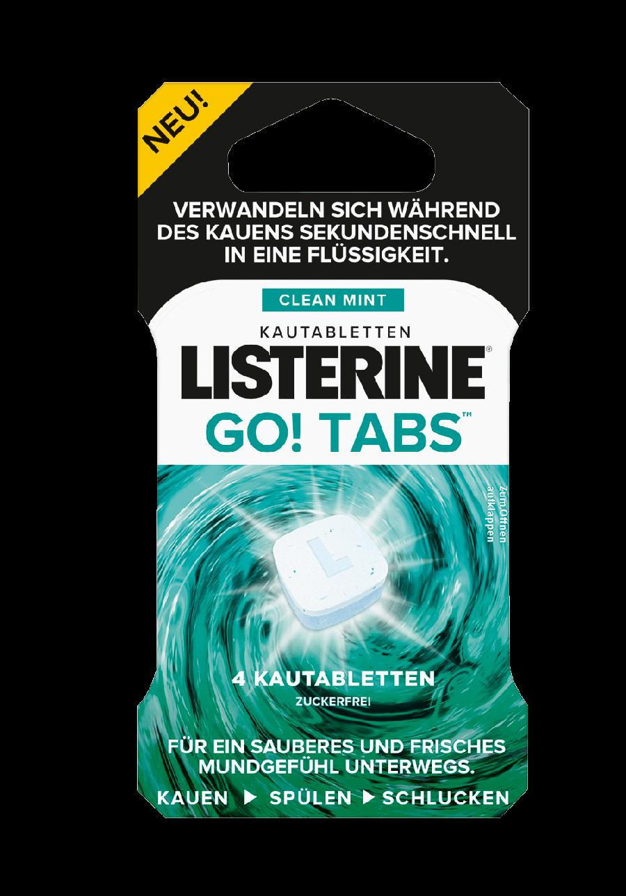 Listerine Go Tabs