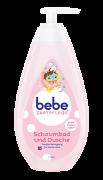 bebe Zartpflege Shampoo und Dusche